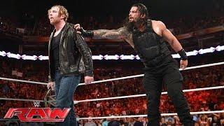 Download Roman Reigns vs. Seth Rollins: Raw, June 20, 2016 Video