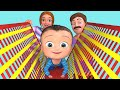 Indoor Playground Cartoon | Kids Songs | Billion Surprise Toys