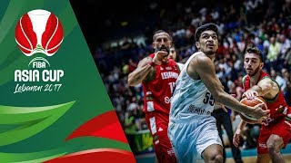 Download New Zealand v Lebanon - Highlights - FIBA Asia Cup 2017 Video