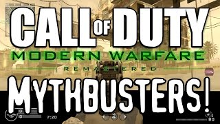 Download OUT OF THE MAP GLITCHES!? (Call of Duty: Modern Warfare Remastered Mythbusters) Video