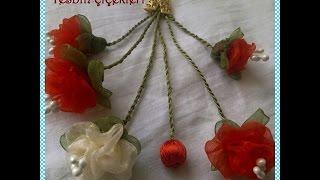 Download Tesbih Çiçeği Yapılışı&TESBİH ÇİÇEĞİ 2 ,&Organze Kurdele oyaları,Forex flower,health flower, Video