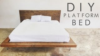 Download DIY Modern Platform Bed | Modern Builds EP. 47 Video