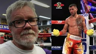 Download FREDDIE ROACH SAYS..″LOMACHENKO LOST A FAN, I WALKED OUT..IT WAS EMBARASSING..″ Video