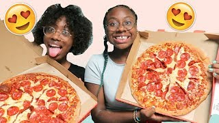 Download ULTIMATE PIZZA CHALLENGE W/ MY SISTER Video