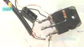 Download Simple Basic audio Amplifier Circuit using Transistor Video