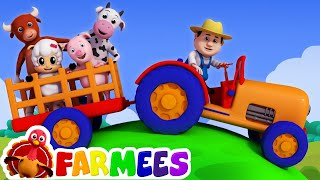 Download Old MacDonald had a farm | Nursery rhymes | 3D rhymes | Children song by Farmees Video