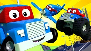 Download Carl The Super Truck - THE SUPER LIVE ! Car City - Police Cars Trucks Cartoons For Kids - Official Video