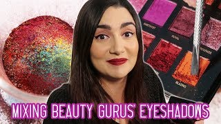 Download Mixing Every Beauty Guru's Eyeshadow Palette Together Video