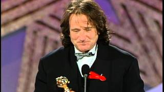 Download Golden Globes 1992 Robin Williams Wins the Award for Best Actor in a Motion Picture Video