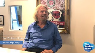 Download Q&A with Sir Richard Branson on The Student Room Video