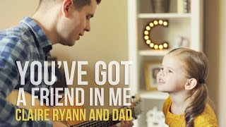 Download You've Got a Friend in Me (Toy Story Song) - 3-Year-Old Claire Ryann and Dad Video