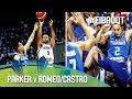 Download Parker v Romeo/Castro - Battle of the point guards Video
