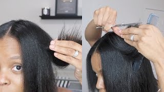 Download Watch Me TRIM My Hair   Layered Trim   Step by Step Video
