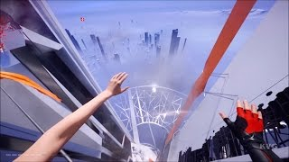 Download Mirror's Edge Catalyst - Climbing The Highest Building | The Shard | Free Running (HD) [1080p60FPS] Video