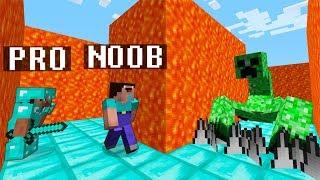Download Minecraft Noob vs. Pro : HARD MAZE WITH MUTANT CREEPER challenge - funny Minecraft battle Video