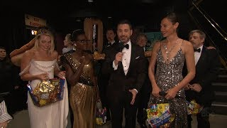 Download Jimmy Kimmel and Oscars Stars Surprise Moviegoers Video