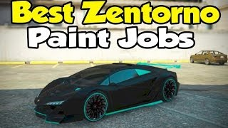 Download GTA 5 Online - Best ″Pegassi Zentorno″ Paint Jobs! [Touch Up Tuesday] Video