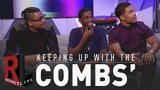 Download REVOLT Live | Keeping up with the Combs' Video