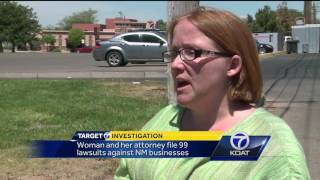 Download Woman who sued 99 businesses said she was recruited to find ADA violations Video