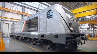 Download New BOMBARDIER TRAXX DC3 locomotive Video