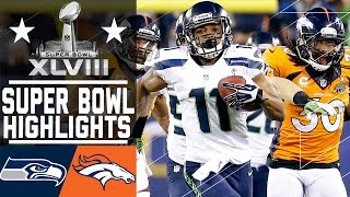 Download Super Bowl XLVIII: Seahawks vs. Broncos highlights Video