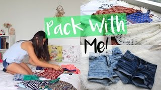 Download Pack with Me | Tips for Packing! Video