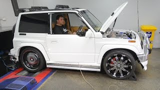 Download SR20 turbo Suzuki Vitara - BUSHIDO Video