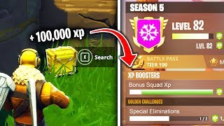 Download Top 5 Fastest Ways To Rank Up IN FORTNITE SEASON 5! Video