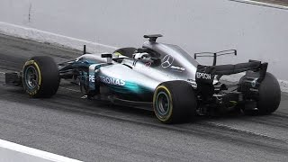 Download F1 2017 Cars Leaving the Pit Lane - Accelerations, Race Start Tests & Sound Video