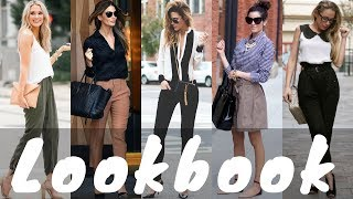 Download Latest Spring Work / Office Outfit Ideas Fashion Trend 2018 | Spring Fashion Lookbook Video