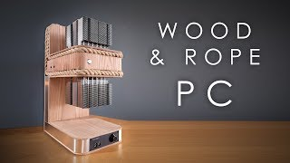 Download I built a PC out of rope and wood... Video