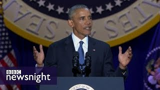 Download What is President Barack Obama's legacy? BBC Newsnight Video