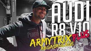 Download JP Performance - Audi R8 V10 Plus   Armytrix Abgasanlage Video