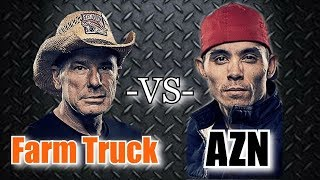 Download Street Outlaws Farm Truck and Azn Drag Race Each Other Video