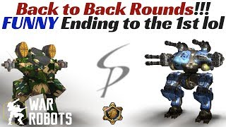 Download War Robots - Double Domination! Back To Back Rounds, FUNNY Ending! Video