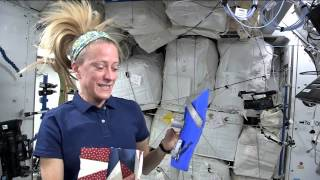 Download NASA Astronaut Karen Nyberg Invites Quilters to Create a Space Square Video