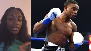 Download Claressa Shields on Errol Spence Jr not mentioning Terence Crawford name last night Video