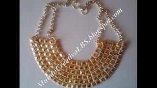 Download DIY: collar estilo egipcio *002* Video