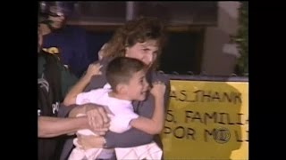Download On this day: Elian Gonzalez reunited with his father Video