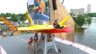 Download Red Bull Flugtag festival: Homemade flying machines awe Moscow Video