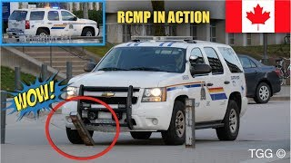 Download RCMP Supervisor Knocks Down Barrier + Responding on UBC Campus [Vancouver] Video