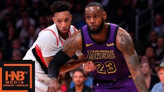 Download Los Angeles Lakers vs Portland Trail Blazers Full Game Highlights | 11.14.2018, NBA Season Video