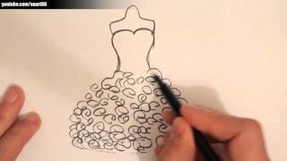 Download How to draw a wedding dress Video