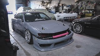 Download Dropping Off The 240SX For Paint!!! Video