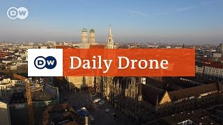 Download #DailyDrone: Marienplatz, Munich Video