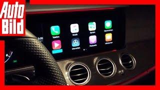 Download AUTO BILD Quick Shot: Apple CarPlay im Mercedes E-Klasse T-Modell S213 2016 Video
