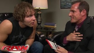 Download Dean Ambrose undergoes psychological evaluation: Raw, January 12, 2015 Video