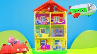 Download Peppa Wutz Unboxing deutsch: Neue Spielspaß Spielzeugvideos & Schorsch Zusammenschnitt für Kinder Video