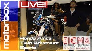 Download Nuova Honda Africa Twin Adventure Sports 2018   Live Eicma 2017 Video