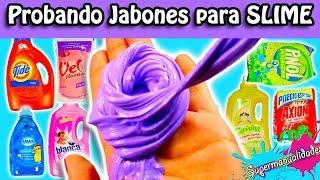 Download ¿Qué Jabones sirven para Slime? Probando 21 detergentes / Supermanualidades Video